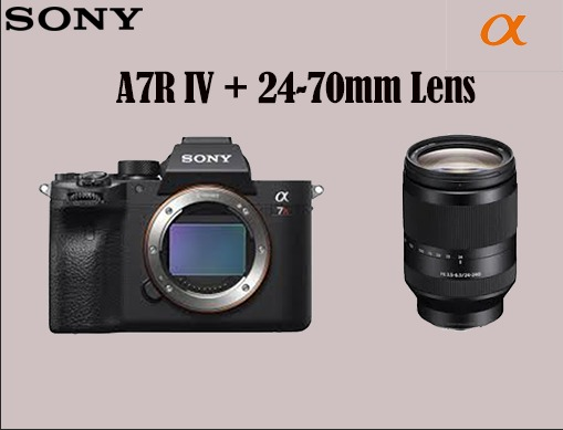 SONY ALPHA A7RIV  DSLR CAMERA