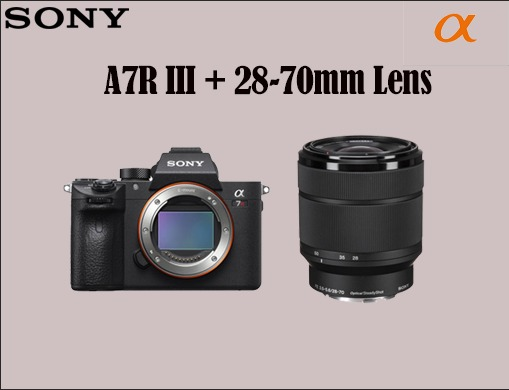 SONY A7 R III AND 28-70 MM LENS