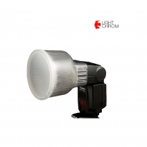 LIGHT CHROM SUPER DIFFUSE DOME SONY F32X/ CANON430X (D2)